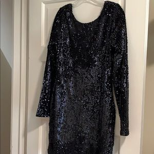 NWOT all over sequin dress